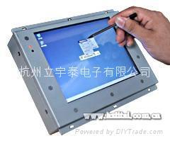 可用於高低溫試驗箱的8寸嵌入式人機界面