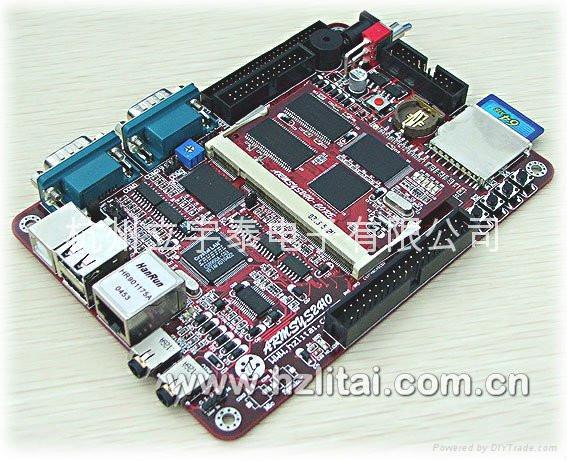 可配H-JATG USB 仿真器的三星2410開發板 1