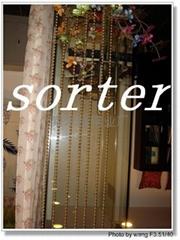 裝飾用金屬珠帘