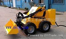 小型電動礦用滑移機器人