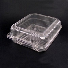 Plastic Food Container (Strawberry Box)