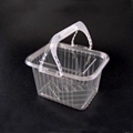 Plastic Food Container (PET calathus)