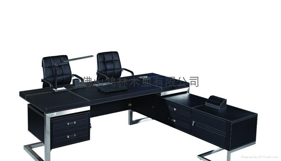 高檔豪華辦公桌老闆桌大班台辦公傢具 3