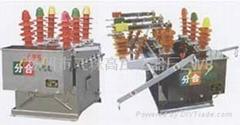 扬州ZW8-12户外高压真空断路器