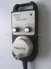 上海华途HAUTO HT952 HT962 HT962ES HT982 5轴6轴7轴8轴电子手轮 急停使能电子手轮
