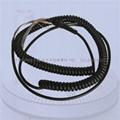 電子手輪屏蔽螺旋電纜,5M.10M,15M,17芯,27芯電子手輪彈簧線 2