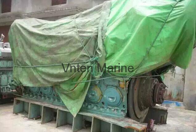Marine diesel engine set SXD PIELSTICK 12PA6V-280 2