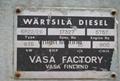 Marine diesel engine set WARTSILA 6R22
