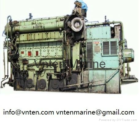 Used(2nd-hand) Diesel Engine and Generator Set 1