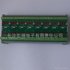 32路三菱/歐姆龍PLC輸出放大板