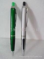 Ballpoint pens with eraser
