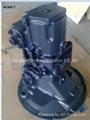 Komatsu piston pumps