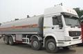 HOWO 26-38m3 Fuel tank truck  5
