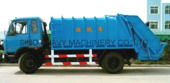 Sinotruck Compact Garbage Truck  1