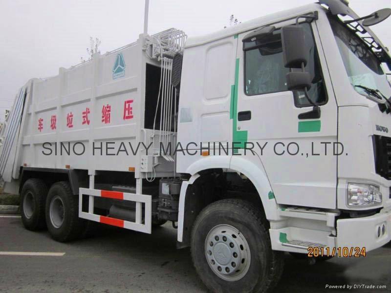 Sinotruck Compact Garbage Truck  5