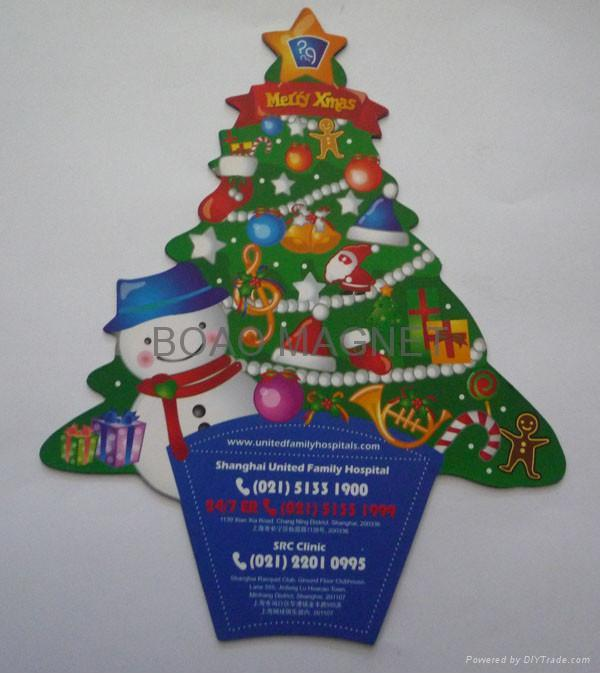 holiday fridge magnet 1