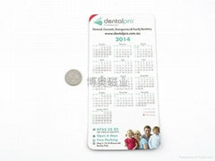2013 calendar fridge magnet