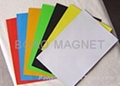彩色橡胶磁片