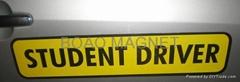 car sign magnet