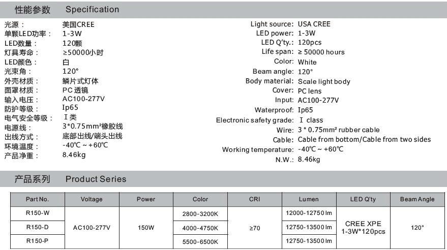 LED路燈 150W 4