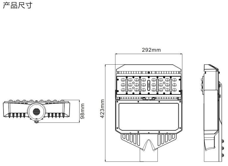 LED路燈50W 3