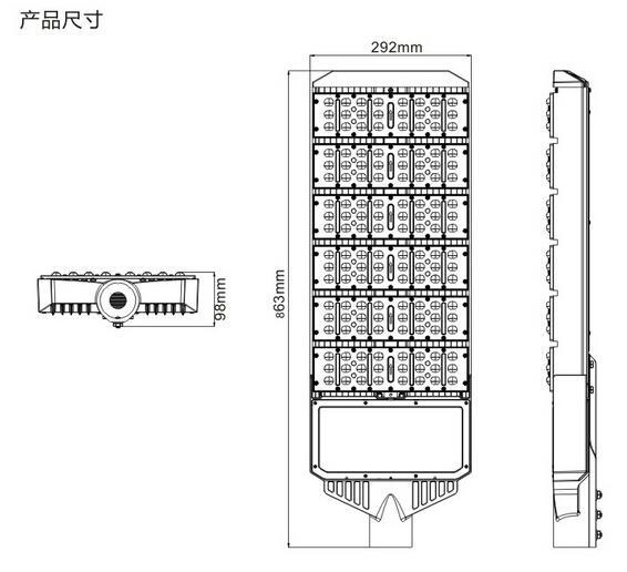 LED Street Lights 300W 3