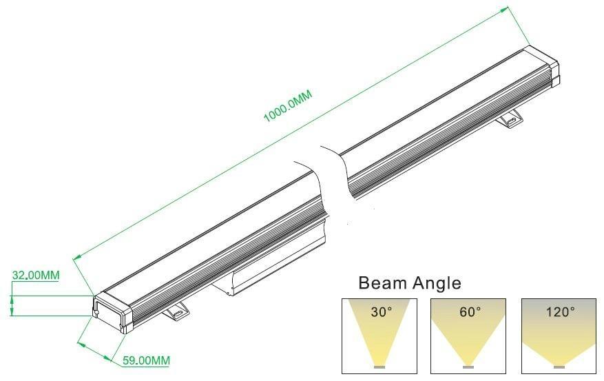 LED洗牆燈 2