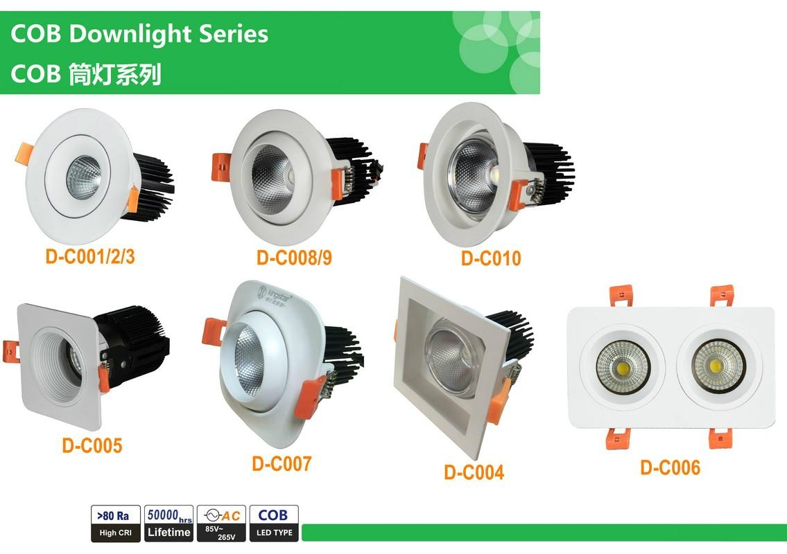 COB LED Downlight 2