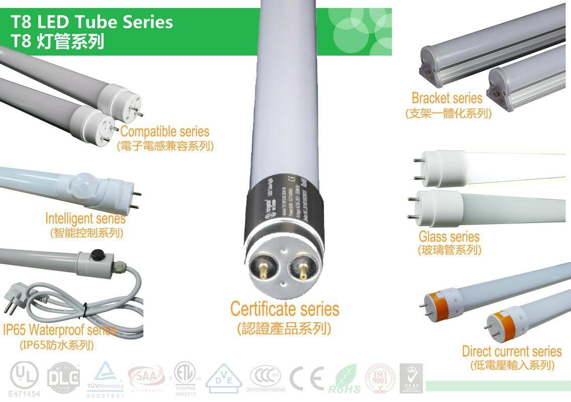 Approved LED Tubes 18