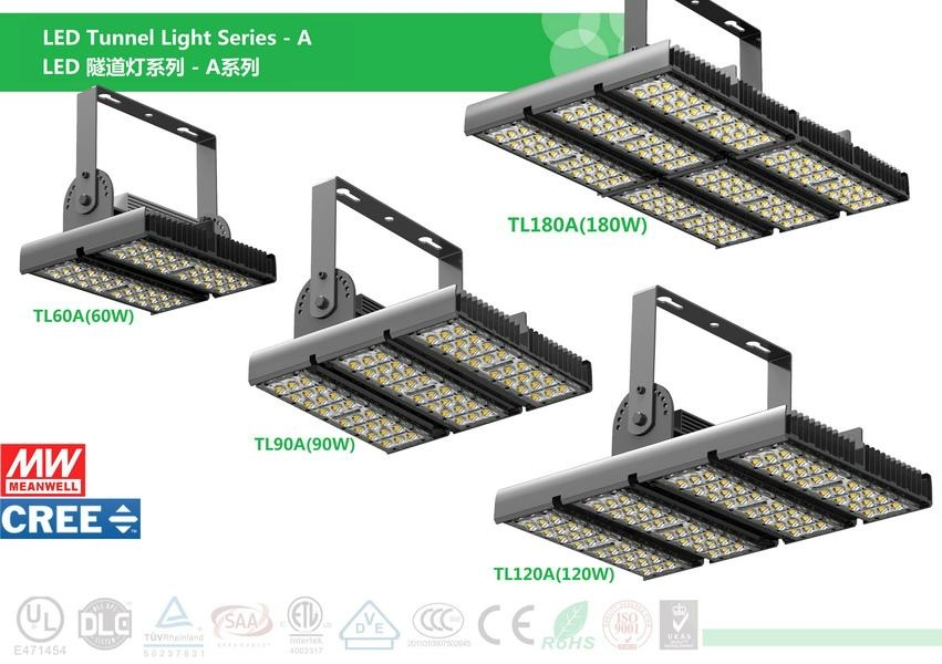 LED Tunnel Lamp 90W 5