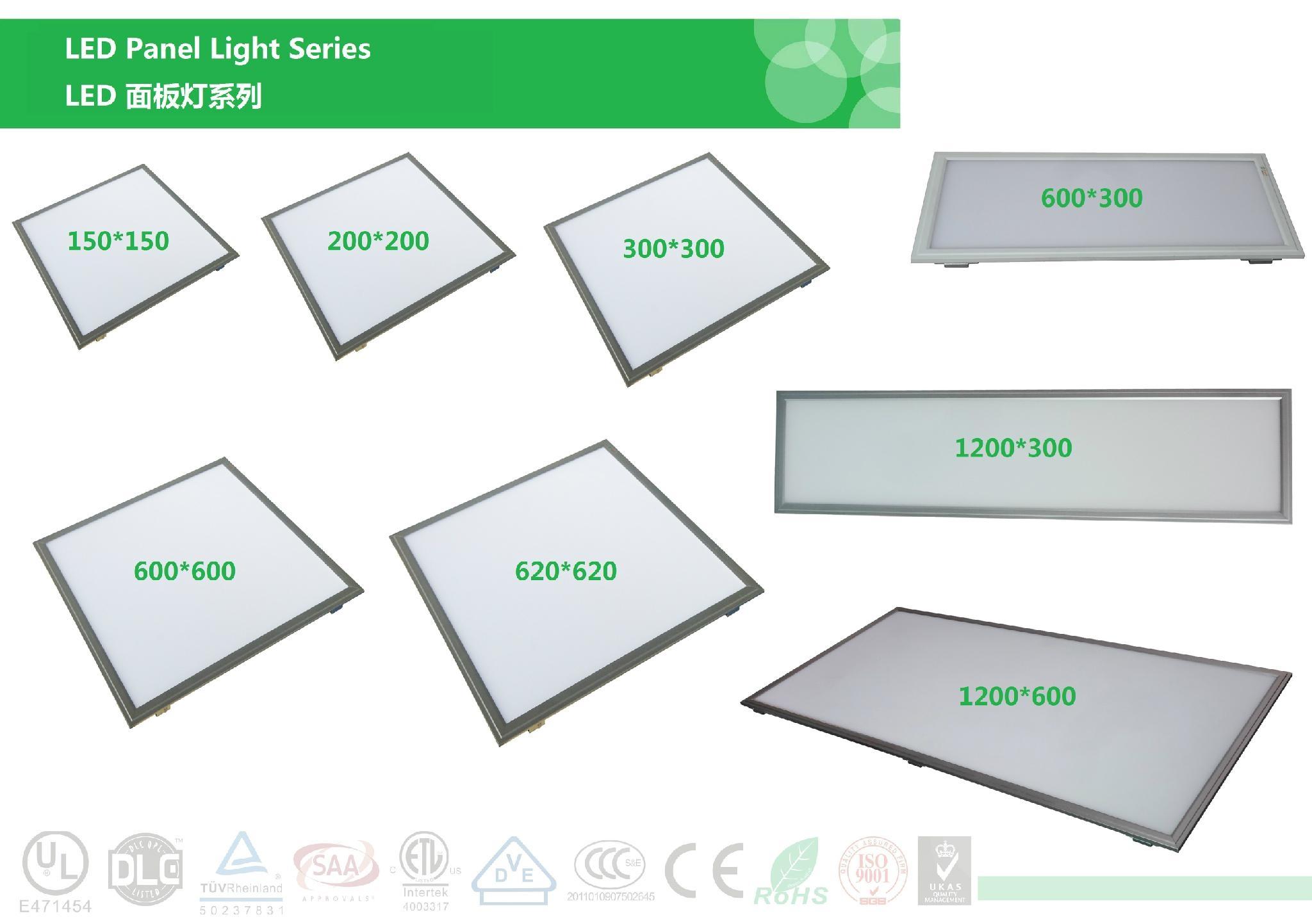 LED平板燈 24W-30W-45W-60W 600*600mm 7