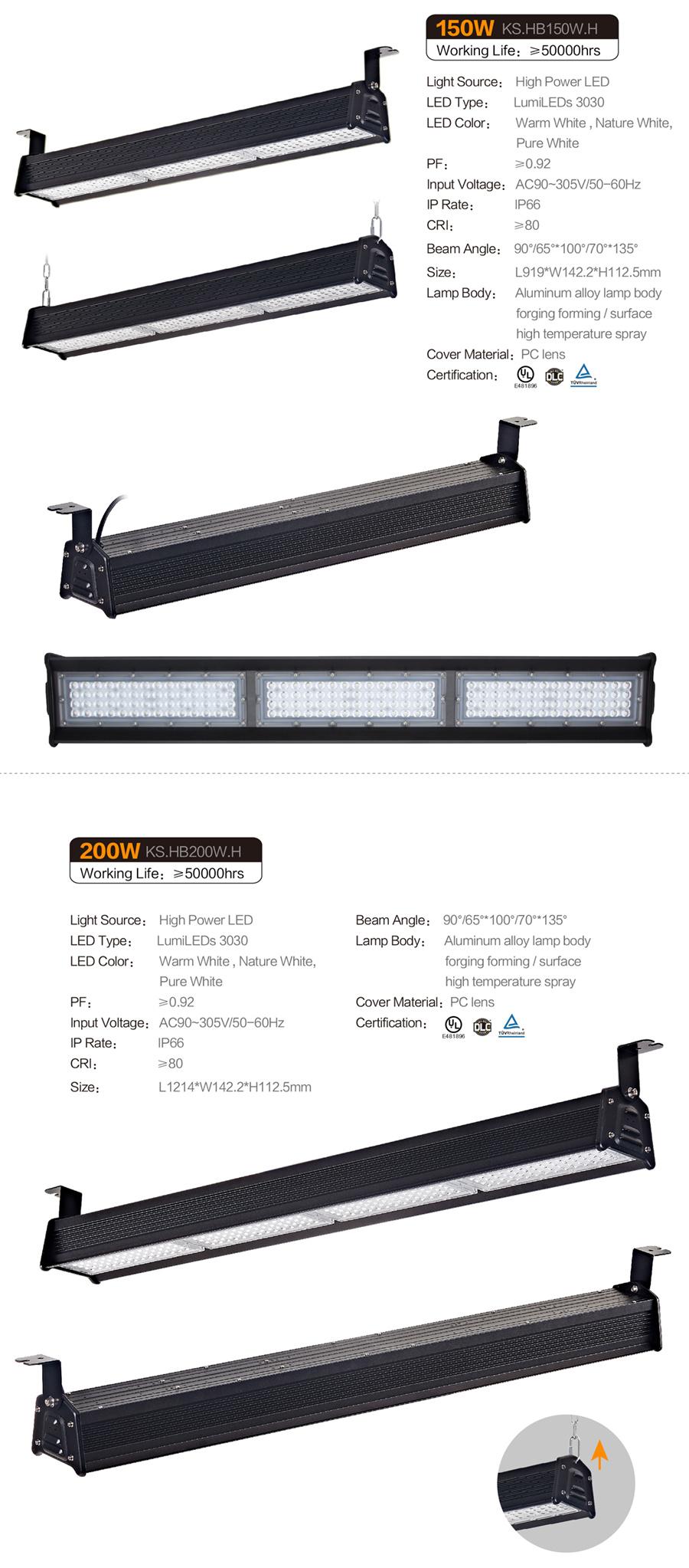 LED条形工矿灯-H款 5