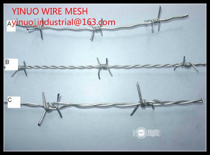 Ga  anized Barbed Wire 2
