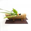竹花插竹花瓶竹花盆竹擺飾竹裝飾