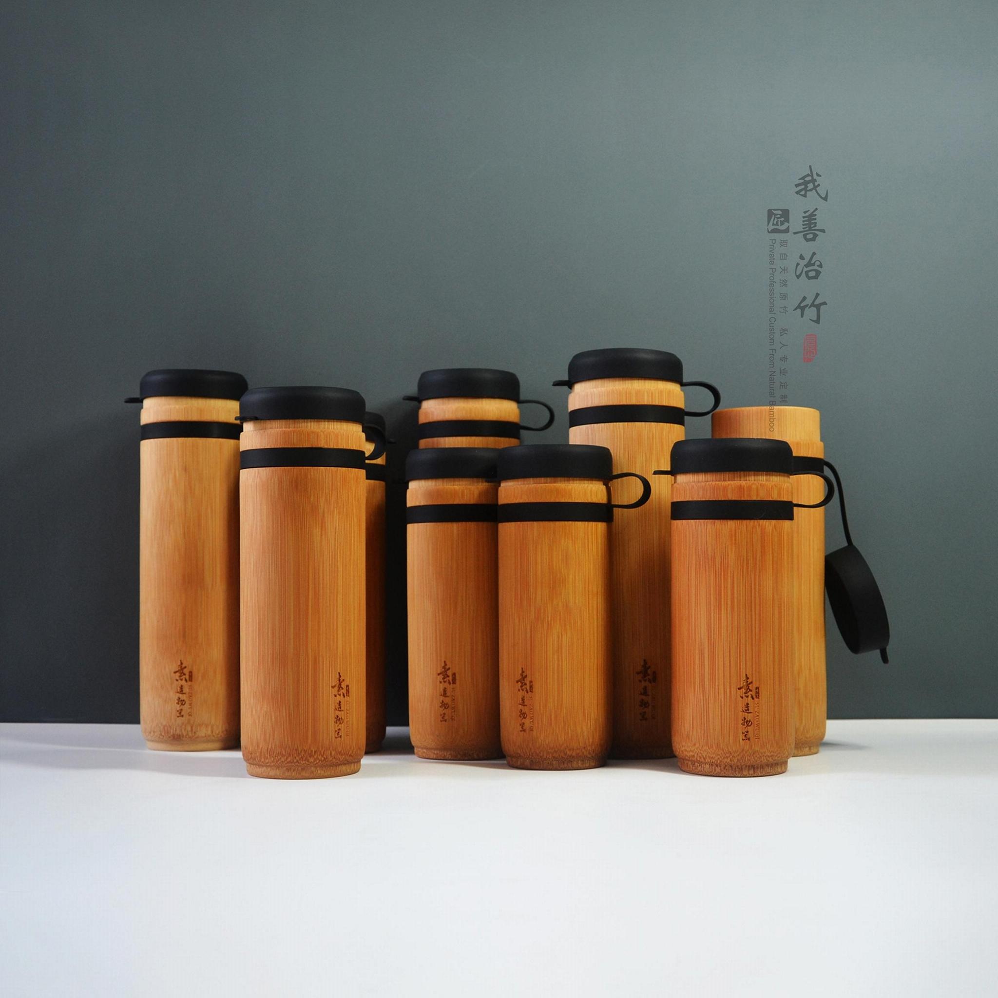 运动竹水杯竹水壶竹水瓶 4