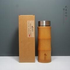 天然竹子保溫杯竹水杯茶杯