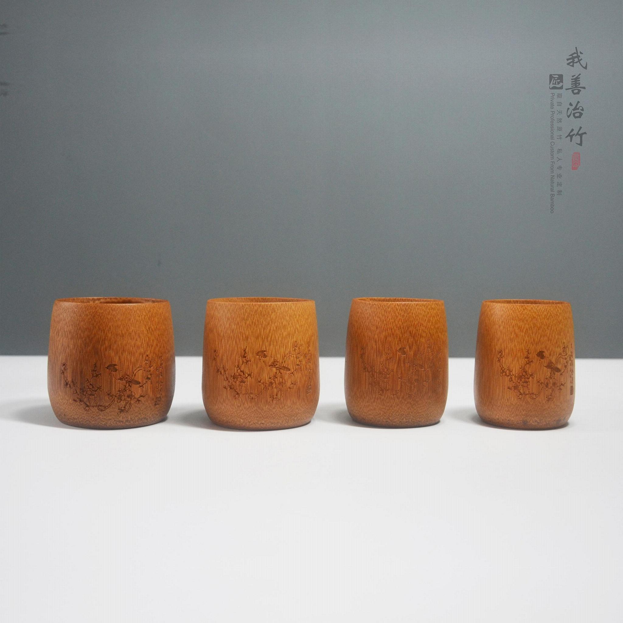 天然竹杯茶杯酒杯水杯茶具酒具 3