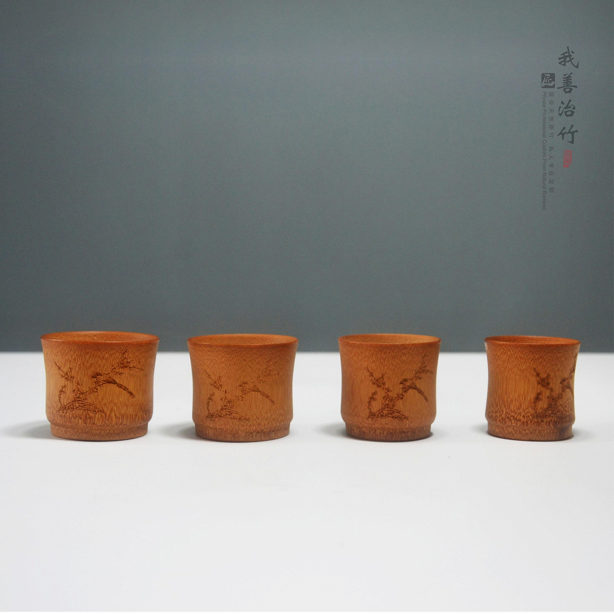 天然竹杯茶杯酒杯水杯茶具酒具 4