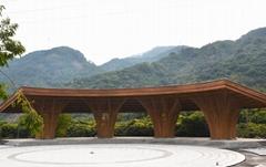 設計承建竹樓竹房子竹景觀竹建築竹裝飾