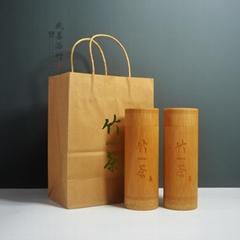 竹茶葉筒竹包裝工藝包裝竹茶葉罐