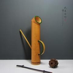 竹水壶竹子洒水壶浇花水壶浇花工具