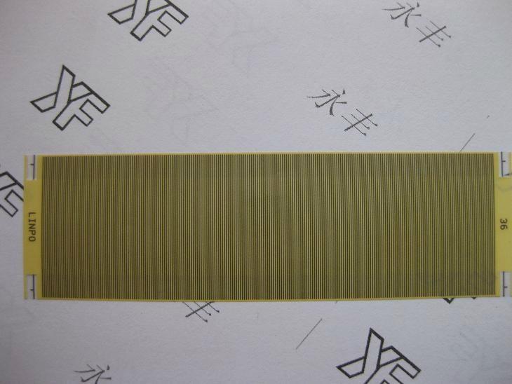 日本低电阻高附着力热压导电斑马纸 2