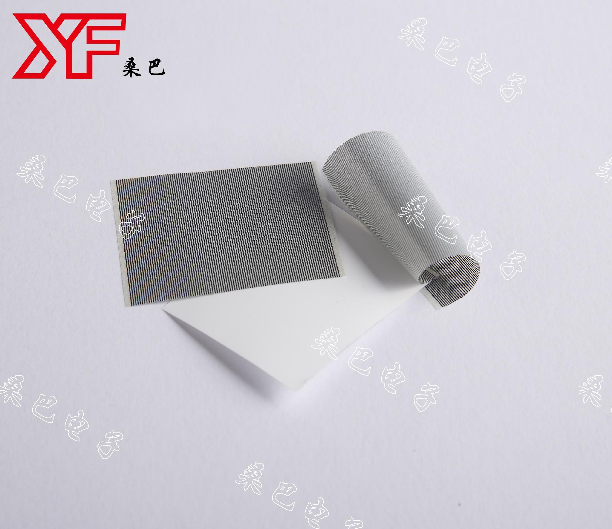 Heat Seal  Low resistance. 200 Ω /cm² 5