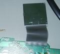 LCD与PCB斑马纸连接器