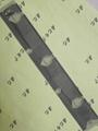 汽车仪表使用的热压导电斑马纸
