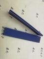 导电橡胶连接器(俗称:导电胶条 斑马条 )被设计成安装在LCD显示器与PCB印刷电路板的连接器件,具有体小重量轻、耐高温、长寿命、高可靠、低成本、柔软及富弹性、对位方便容易等突出特点:因为电极间距可以做的很小,所以适合驱动路数多的产品。   应用:适用于弱电领域中的各种无引线连接(所以液晶显示屏LCD种类产品,在计算器、游戏机、电话机、电子表、电子仪器、传呼机、手提电话、掌上计算机等液晶显示器中得到广泛的应用