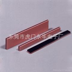 廠家專業生產導電膠條進口硅膠材質。
