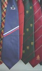 pure silk   logo necktie