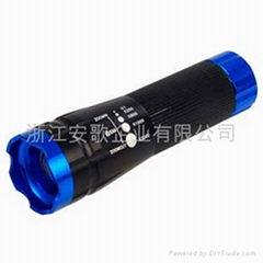 Super bright XPE/Q3 LED aluminum alloy torch flashlight 006