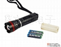 立超Q3-007伸缩调焦强光手电筒 攻击头 2